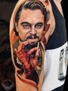 tattoo-tatuaggio-effetto-realistico-attori-leonardo-di-caprio-italia-tatuatori-vicenza-veneto