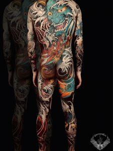 japan-tattoo-traditional-tatuaggio-giapponese-demone-onde-yokai-drago-corpo-significato-full-body-uomo-orientale-artisti-tatuatori-italiani-veneto-vicenza